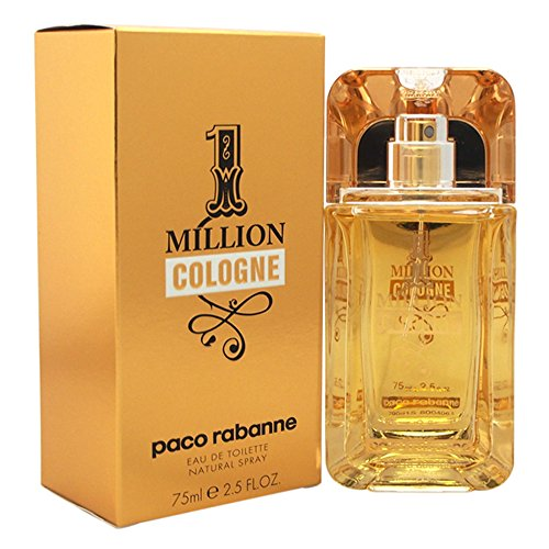 Paco Rabanne 1 Million Cologne agua de colonia Vaporizador 75 ml