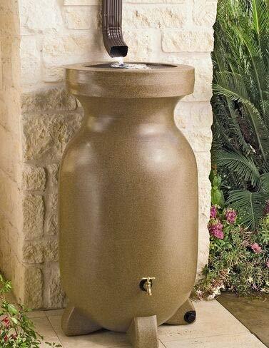 Gardener's Supply Company 75-Gallon Rain Barrel