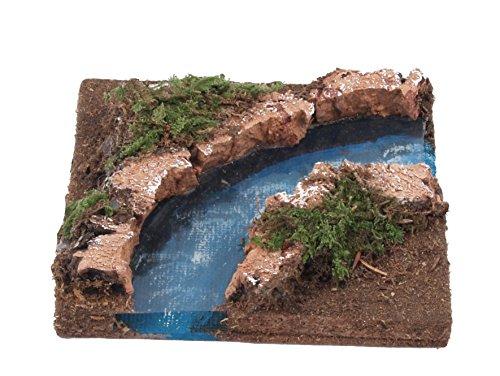 Bertoni Bend of The River, Holz, Mehrfarbig, Einheitsgröße