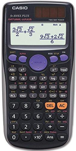Calculadora científica Casio FX300ESPLUS FX-300ESPLUS, 10 dígitos, visor de livro de texto natural, LCD