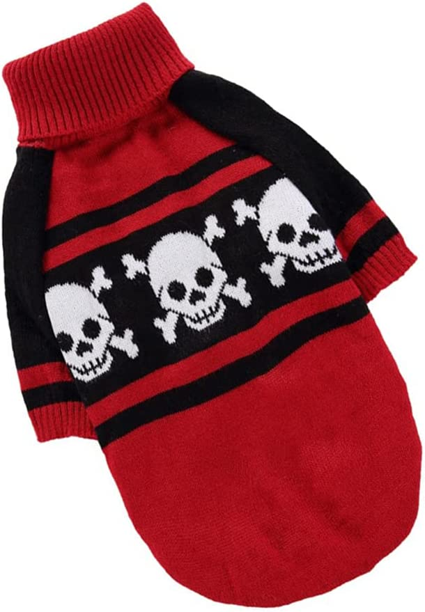 NUOBESTY Skull Dog Sweater Popular brand in the world Skeleton ...