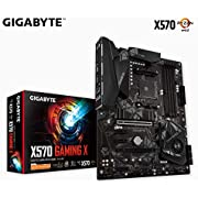 Gigabyte AMD X570 Gaming Motherboard with 10+2 Phases Digital VRM, Dual PCIe 4.0 M.2 with Thermal Guard, GIGABYTE Gaming GbE LAN with Bandwidth Management, RGB Fusion 2.0