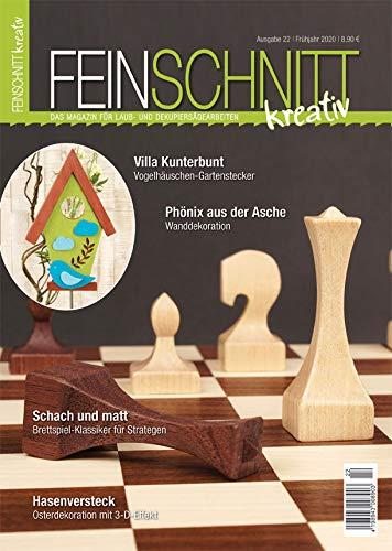 FEINSCHNITTkreativ Ausgabe 22 – Das Magazin für Laub- und Dekupiersägearbeiten (Frühjahr 2020)