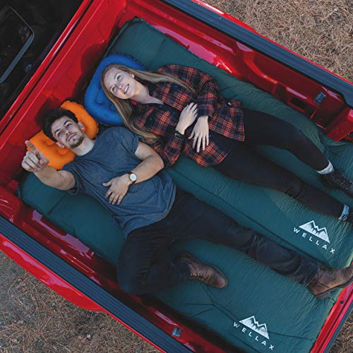 sleeping pad to sleep on in a tent while camping