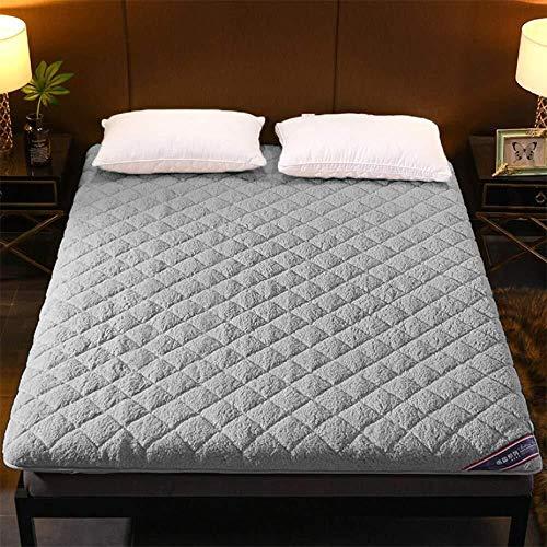 Matte opvouwbare matras van pluche warme etagère bed topper Tatami eenpersoonsbed tweepersoonsbed 180x200cm(71x79inch) Een
