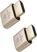 Virtual Display Adapter HDMI 2.0 DDC EDID Dummy Plug Display Emulator-2Pack