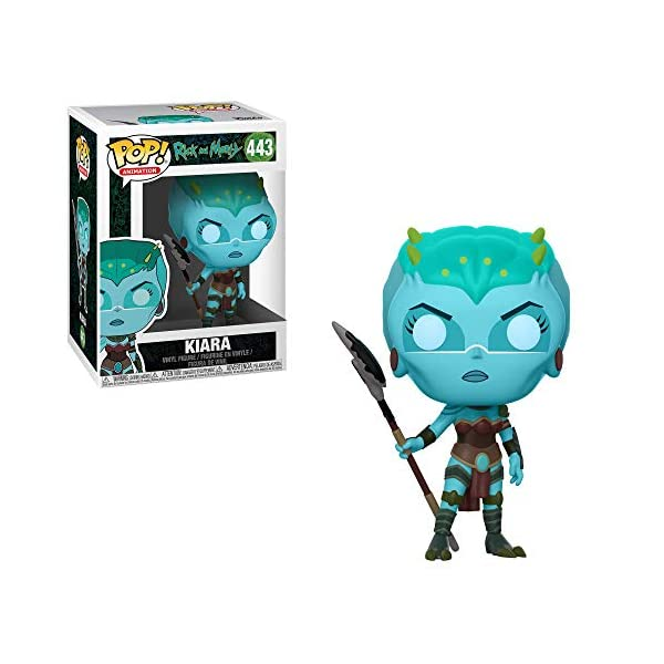Funko Pop Kiara (Rick & Morty 443) Funko Pop Rick & Morty