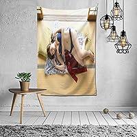 篠崎愛写真 タペストリー インテリア 壁掛け おしゃれ 室内装飾 多機能 寝室 カーテン おしゃれ 個性ギフト 新築祝い 結婚祝い プレゼント ウォール アート(60in*40in)
