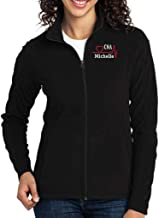 Why Not Stop N Shop Personalized Firefighter Full Zip Jacket with Pockets Embroidered