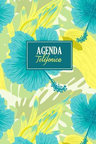 Agenda Telefónica: Libreta de direcciones A5 | Organizador para almacenar números de teléfono, correo electrónico e información de cumpleaños, A5