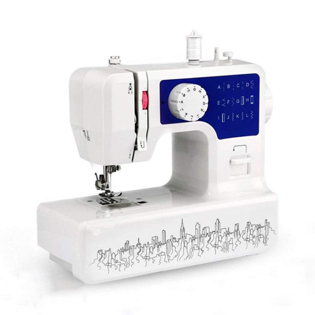TangMengYun Máquina de Coser doméstica Máquina de Coser de botón ...