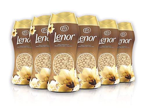 Lenor Oro e Fiori di Vaniglia Profumo per Bucato, Pacco da 6 x 210 g