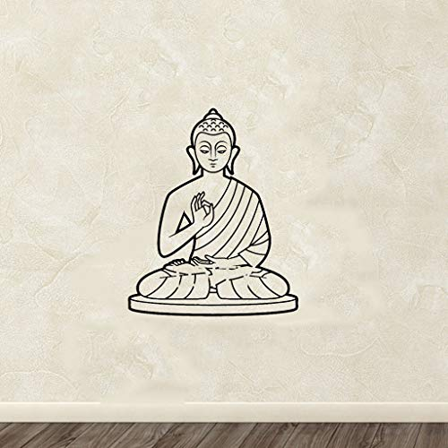Buddha Indian Design Lotus Flower Stickers Buddhism Symbol Home décor for living room bedroom