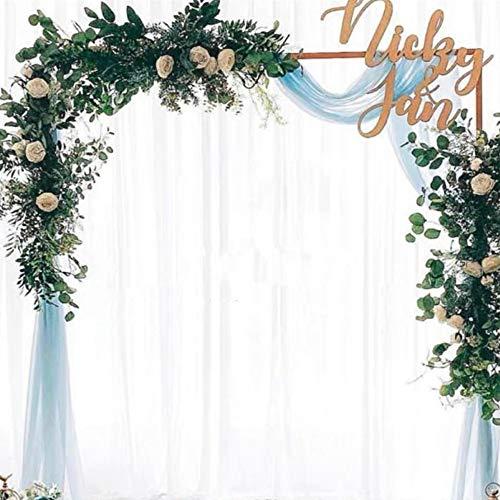 OUKANING 2x1,5M Hochzeitsbogen Metall Quadrat Balloon Arch Rosen Bogen Gold Für Hochzeit Geburtstag Und Abschlussfeier (Stil: ohne Spurstange)