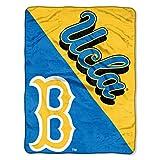 The Northwest Company UCLA Bruins 'Halftone' Micro Raschel Throw Blanket, 46' x 60' , Blue