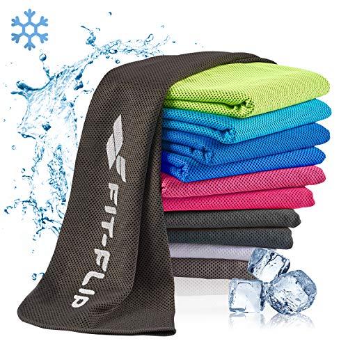Koeldoek - verkoelende handdoek voor sport & outdoor, cooling towel fitness handdoek, koeldoek hals OEKO-TEX 100