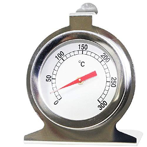 Kife Utensilios para Hornear Acero Inoxidable Indicador del Asiento Indicador eléctrico Horno Termómetro 300 ° C