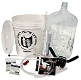 Home Brew Ohio Complete Beer Equipment Kit (K6) with 6 gal Glass Carboy