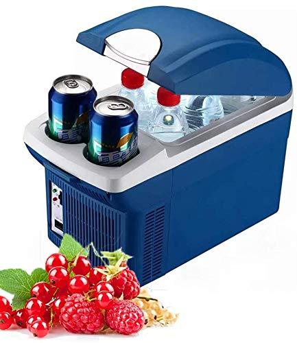 RENXR Mini Nevera De Camping 8,5 litros Refrigerador De Coche Portátil Enfriador Y Calentador Eléctrico para El Cuidado De La Piel, Alimentos, Medicamentos, Hogar