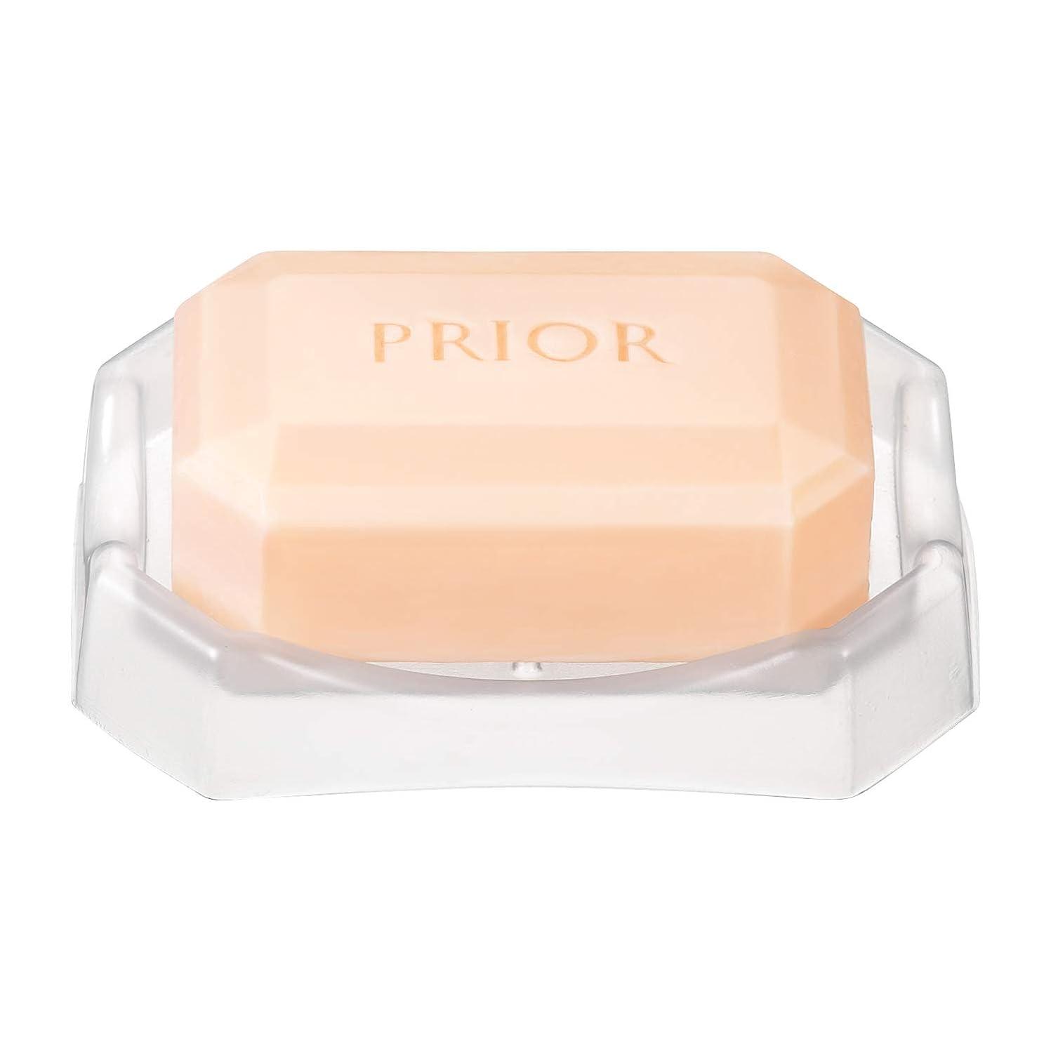 冷凍庫うがい進化するプリオール オールクリア石鹸 標準重量100g(枠練)