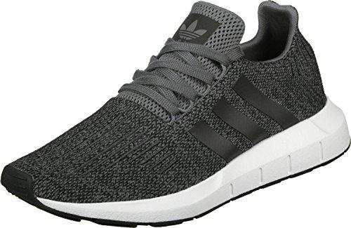 adidas Swift Run, Scarpe da Fitness Uomo, Grigio (Gricua/Negbas/Ftwbla 000), 36 EU