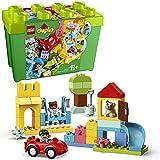 LEGO 10914 DUPLO Classic Deluxe Steinebox Bauset mit Aufbewahrungsbox, erste Steine Lernspielzeug für Kleinkinder im Alter von 1,5 Jahren