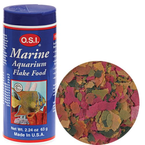 OSI Marine Lab Marine Flake Fish Food 7.06oz