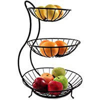 Spectrum Diversified 3-Tier Yumi Arched Server Stacked Organizer