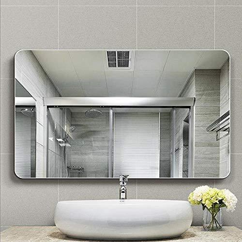 Badkamer wand spiegel, Frameloze muur bevestigde Spiegel van de Badkamers, passpiegel, rechthoek spiegel, make-up spiegel, make-upspiegel, scheerspiegel, moderne badkamer decoratie (500 * 700MM)