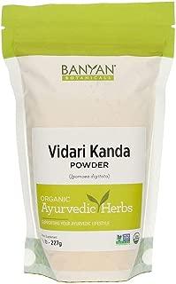 Banyan Botanicals Vidari Kanda Powder - Certified Organic, 1/2 Pound - Ipomoea digitata - A Sweet, nutritive Tonic That is a rejuvenative for vata and Pitta*