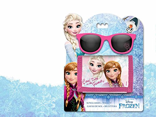 Disney Frozen- Set Gafas y Billetera (Kids WD17765)