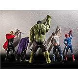 Diopn 5D Diamond Painting Cross Stitch Funny Hulk Thor Joker Spider Man Wolverine Superhero Diamond...