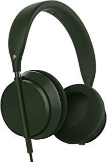 Plugged pcrwn16og Crown On-Ear Flexible Plegable Equipster estéreo Hi-Fi Auriculares Olivo/Graphite