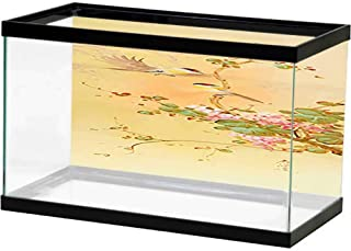 bybyhome Image Decor Chinese Style Landscape Ink on The Backside
