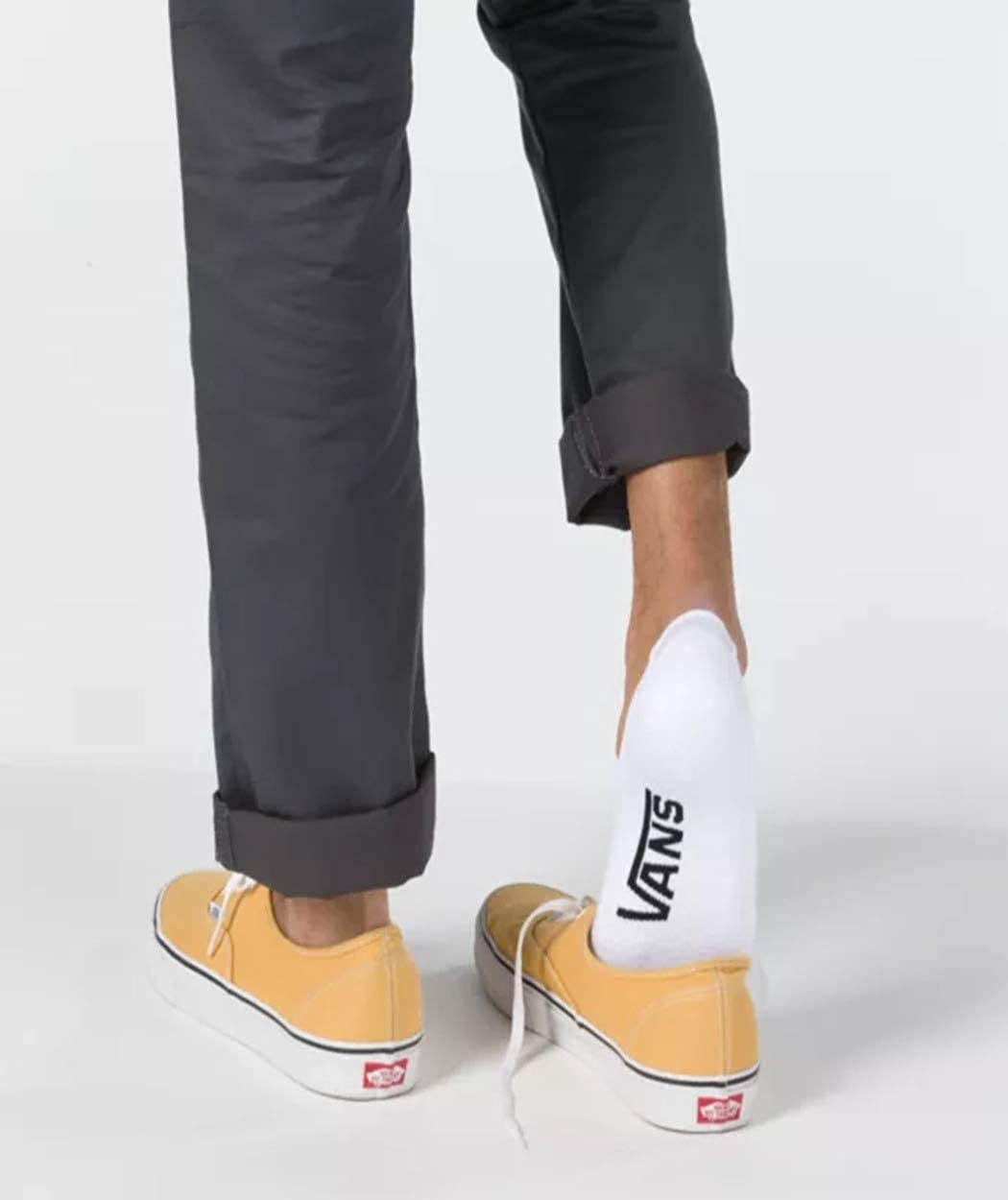 Vans Boys Classic No Show Socks 3-Pack Black/Grey/White VN0A3E2ZJ8Z (Boys 1-6 US/ 31.5-38 EU/ 13.5-5 UK/ 19-24 CM)