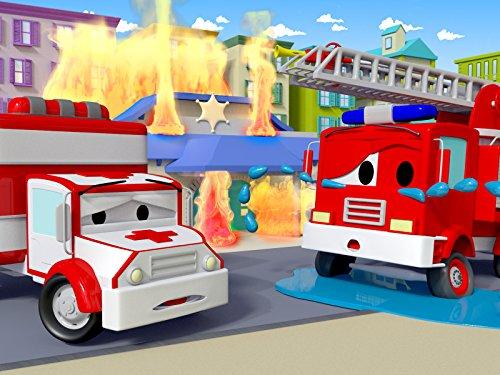 Frank das Feuerwehrauto   Billy die Planierraupe