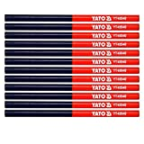crayons de charpentier YATO 12 pz| crayon de menuisier menuiserie...