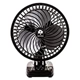 Heinoz High Speed Wall Cum Table Fan Small Size 3 Speed Setting with powerful copper touch motor 9 Inch Black 225 mm Table Fan for home, Office, Kitchen
