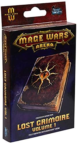 Arcane Wonders ARWWLG01 Mage Wars Arena Lost Grimoire Vol. 1