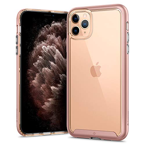 Caseology Skyfall for Apple iPhone 11 Pro Max Case (2019) - Rose Gold