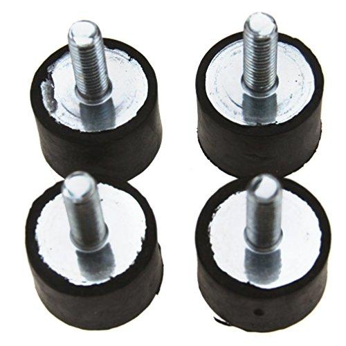 4pcs VIS en caoutchouc anti-vibrations Supports M8 20x30MM