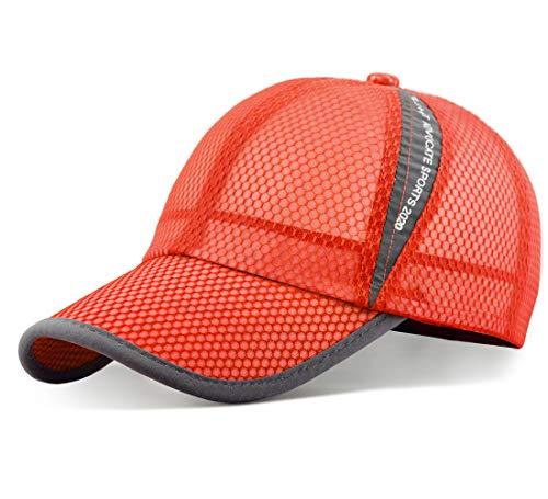ELLEWIN Summer Baseball Cap Quick Dry Cooling Sun Hats Flexfit Sports Caps Mesh Hat for Golf Cycling Running Fishing