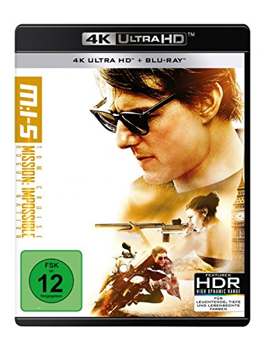 Mission: Impossible 5 - Rogue Nation - 4K UHD [Blu-ray]