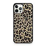 Elegante funda para teléfono con diseño de leopardo con estampado de animales (modelo de teléfono: Apple iPhone 7 Plus)