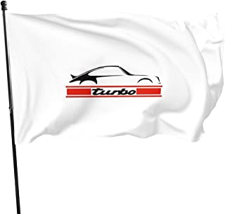 Carrera Turbo Polyester Flag, Banner Flags