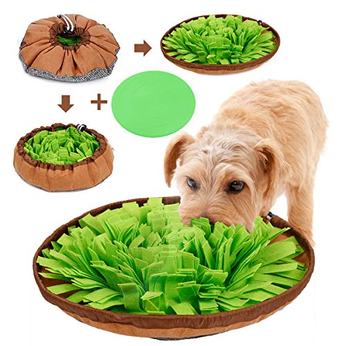 ALOYA Snuffle Mat,Dog Snuffle Mat,Nosework Mat for Dogs Large Medium...