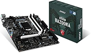 MSI B150M Bazooka - Placa base (socket LGA 1151, 4 x DDR4-2133 hasta 64 GB) Micro ATX