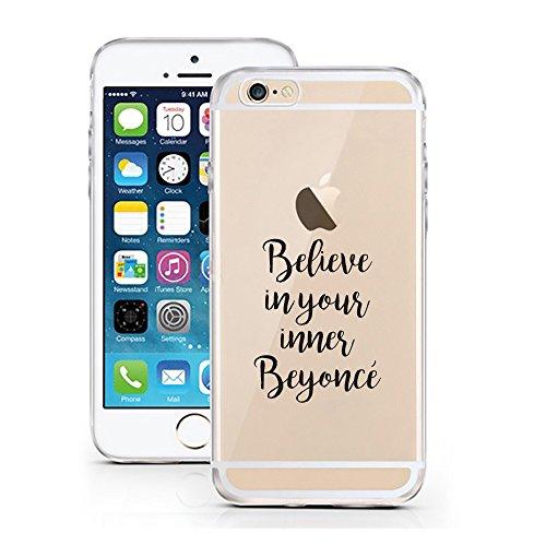 iPhone 5 Caso 5S por licaso para el patrón de Apple iPhone 5 5S SE Inner Beyoncè Bellezza Beauty TPU de silicona ultra-delgada proteger su iPhone 5S es elegante y cubierta regalo de coches