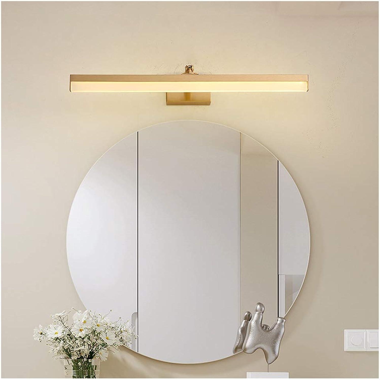 THOR-BEI Kupfer Badezimmerspiegel Scheinwerfer Kosmetikspiegel Schrank Wandleuchte Badezimmer Badezimmer Wandleuchte Lampe Licht -744Spiegellampen (gre   40cm)