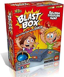 Desktop Game Blast Box Knock Box Tricky Toy Burst Balloon Funny Prank Family Friends Play toy Creative Gift Christmas Present
